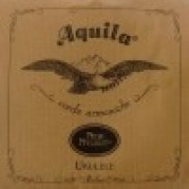 AQUILA TENOR 15U UKULELE NEW NYLGUT 1 wound Key of C - GCEA SET Low G - Strengesett til Ukulele.
