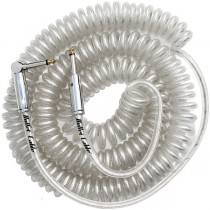 Bullet Cable 30′ Coil Cable Clear (Str/Ang)