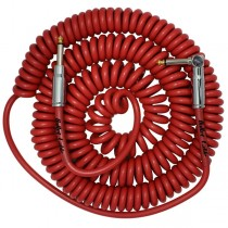 Bullet Cable 30′ Coil Cable Red (Str/Ang)