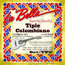 LaBella TPC World Folk Set Tiple Colombiano. Strengesett