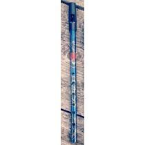 Generation Boho D Whistle. Paisley Blue Flageolet. Flageoletfløyte i D med paisleymønster.