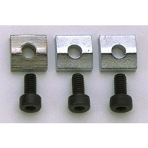 ALLPARTS BP-0116-010 Chrome Nut Blocks