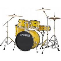 Yamaha Rydeen RDP0F5 Trommesett - Mellow Yellow m/Paiste 101 cymbalsett