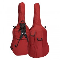 Boston CB-134 Double Bass Bag 3/4 – Wine Red