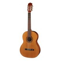 Salvador Cortez CC-10-SN Student Series classic guitar, cedar top, sapele back and sides, 7/8 senorita model