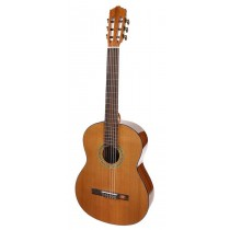 Salvador Cortez CC-10L Student Series classic guitar, cedar top, sapele back and sides, natural, lefthanded