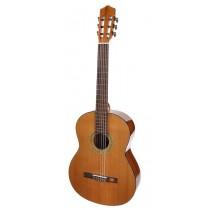 Salvador Cortez CC-10L Student Series classic guitar, cedar top, sapele back and sides, natural, lefthanded
