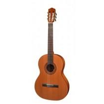 Salvador Cortez CC-22-SN Solid Top Artist Series classic guitar, solid cedar top, sapele back and sides, 7/8 senorita model