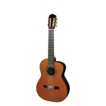 Salvador Cortez CC-60-AL Solid Top Concert Series alto guitar, solid cedar top, with deluxe case
