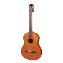 Salvador Cortez CC-80 All Solid Master Series classic guitar, solid cedar top, solid mahogany back and sides, with deluxe case