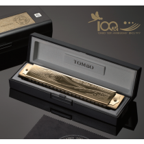 Tombo CD100 100th anniversary model - 21 Holes. Tremolomunnspill i C