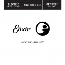 Elixir 16224 Optiweb Nickel Plated Electric - Wound single string .024