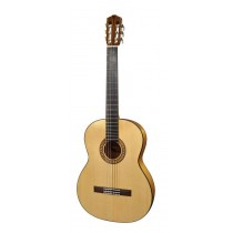 Salvador Cortez CF-120 Flamenco Series flamenco guitar, solid spruce top, solid cypress back and sides, pickguard, with deluxe case