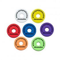Cympad Chromatics Set 40/15 mm - 5 Pack - White