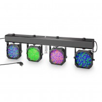 Cameo Multi PAR 1 Compact 432 x 10 mm LED lighting system incl. transport case