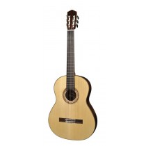 Salvador Cortez CS-110 All Solid Master Series classic guitar, solid spruce top, solid rosewood back and sides, with deluxe case