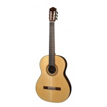 Salvador Cortez CS-130 All Solid Master Series classic guitar, solid spruce top, solid rosewood back and sides, with deluxe case