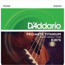 D'Addario EJ87S strenger for sopranukulele