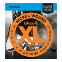 D'Addario EXL110BT BalTen El. gitar strenger (010-046)