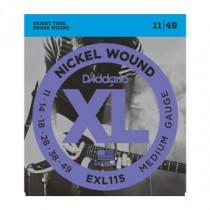 D'Addario EXL115 - El-gitarstrenger