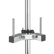 Dixon PA-DTM Double Mini Timbale mount w/Clamp (rods)