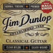 Jim Dunlop DPV102BE - Nylon strengesett til klassisk gitar, med kule