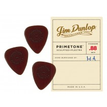 Dunlop Primetone Standard Sculpted Plectra with Grip - .88 - 3pk