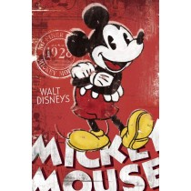 "Filmplakat - Mickey Mouse ""Red"" - Plakat 117"
