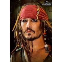 "Filmplakat - Pirates of the Caribbean 4 ""Red Bandana"" - Plakat 137"