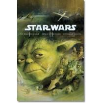 """Filmplakat - Star Wars """"Blu Ray Prequel"""" - Plakat 158"""