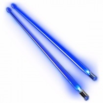 Firestix lysende LED-trommestikker - Brilliant Blue