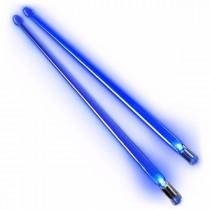 Firestix lysende LED-trommestikker - Brilliant Blue