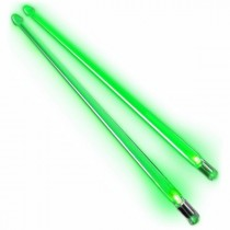 Firestix lysende LED-trommestikker - Screamin Green