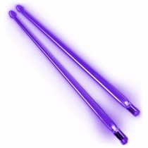 Firestix lysende LED-trommestikker - Purple Haze