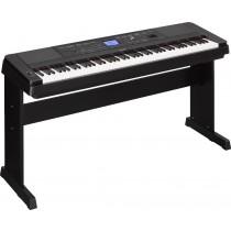 Yamaha DGX-660 Black - Ensamblepiano med vektede tangenter
