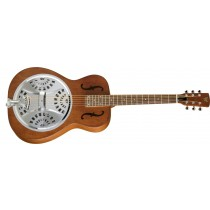 Dobro Hound Dog Round Neck - Vintage Brown