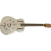 Dobro Hound Dog M-14 Metal Body Nickel