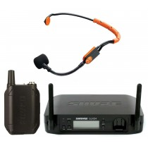 Shure GLXD14 trådløst headset system med SM31FH