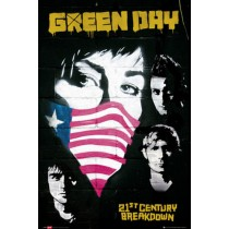 "Green Day ""Protest"" - Plakat 123"
