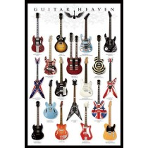 "Guitar ""Heaven"" - Plakat 04"