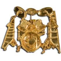 Harmony Jewelry FPP549G - Pin med trommesett