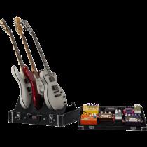 Gator GW-GIGBOXJR pedalbrett m/gitarstativ for 3 gitar