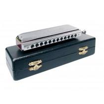 Belcanto HRM-48-CRO chromatic harmonica, ABS, 48 reeds