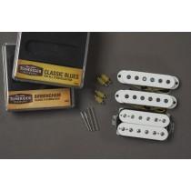 Tonerider The Alnico II HSS Set White