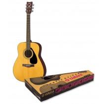 Yamaha F310 Natural  - Pakke med bag, reim, stemmefløyte, strengesett, strengesveiv, capo og plekter!