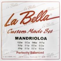 LaBella Mandriola 12-strengssett - Custom Made Set for Mandriola