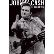 "Johnny Cash ""At San Quentin Portrait"" - Plakat"