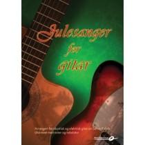 Julesanger for gitar - akustisk og elektrisk - noter og tabulatur - Sølvin Refvik