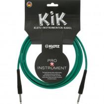 Klotz KIK3 Gitarkabel - 3m - Grønn