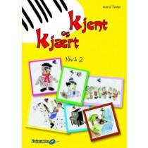 Kjent og kjært 2 - Astrid Tveter Begynnerbok for piano